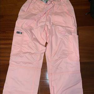 NWOT Koi Lindsey Cargo Scrub Pants! XXSP!